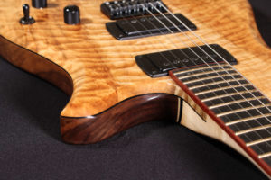 Flame F1 quilted maple custom