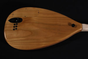 building a solid body electric saz