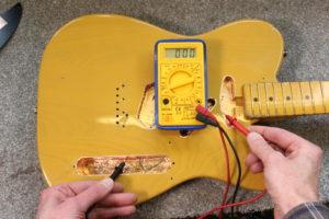 Shielding a Telecaster