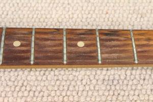 worn frets on 1965 Fender Jazzmaster