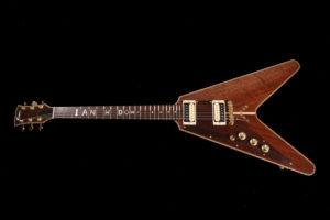 Flame Guitars Albert King guitar